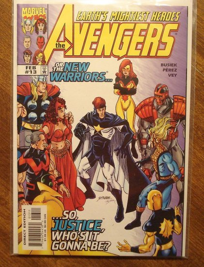 The Avengers #13 (V2) comic book - Marvel Comics