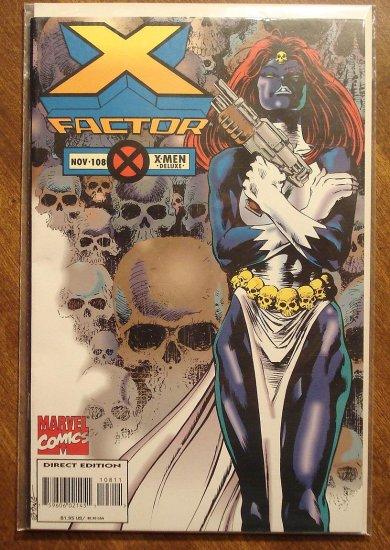 Marvel Comics - X-Factor #108 comic book, NM/M