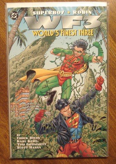 World's Finest Three #2 comic book, Superboy & Robin, DC comics