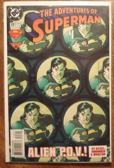 Adventures of Superman #528 comic book - DC Comics