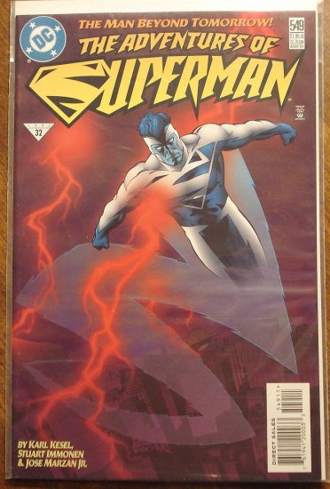 Adventures of Superman #549 comic book - DC Comics