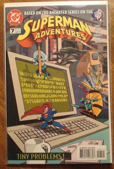 Superman Adventures #7 comic book - DC Comics