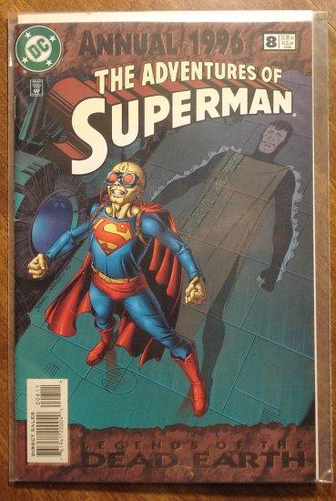 Adventures of Superman Annual #8 comic book - DC Comics