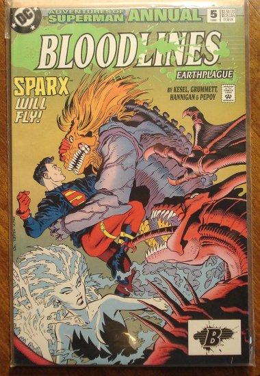 Adventures of Superman Annual #5 comic book - DC Comics