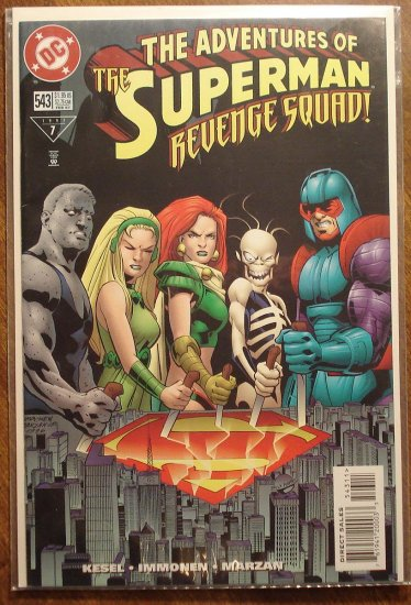 Adventures of Superman #543 comic book - DC Comics