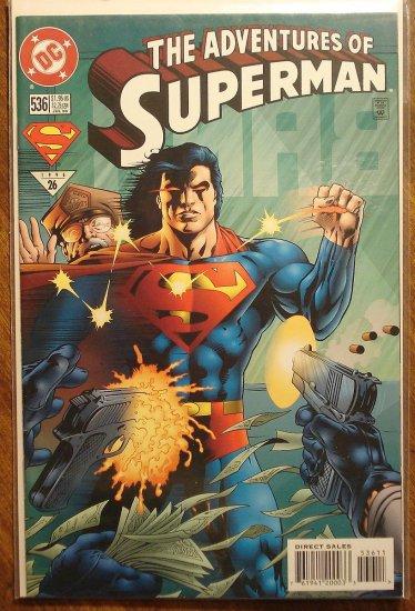Adventures of Superman #536 comic book - DC Comics