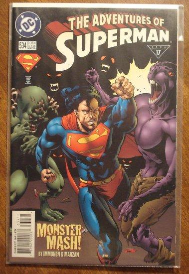 Adventures of Superman #534 comic book - DC Comics