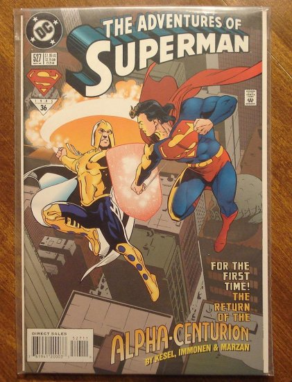 Adventures of Superman #527 comic book - DC Comics