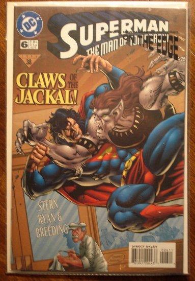 Superman The Man of Steel Gallery #1 comic book - DC Comics