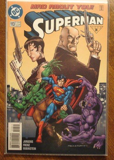 Superman #113 comic book - DC Comics