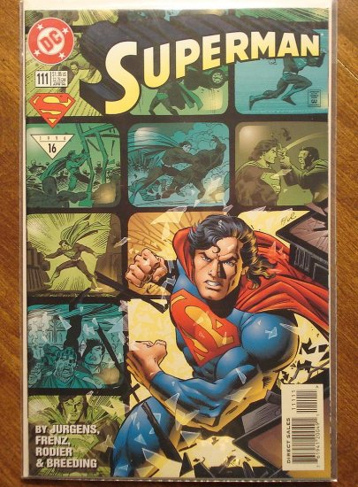 Superman #111 comic book - DC Comics
