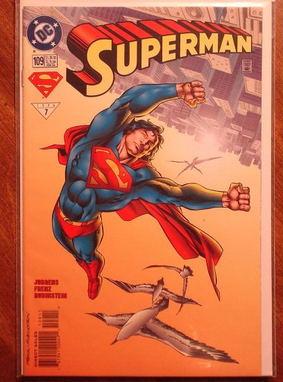 Superman #109 comic book - DC Comics