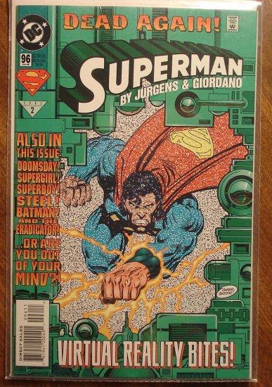 DC Comics - Superman #96 comic book (1980's series)