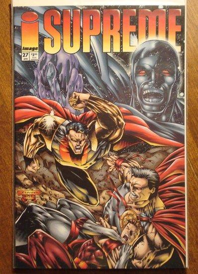 Supreme #27 comic book - Image comics