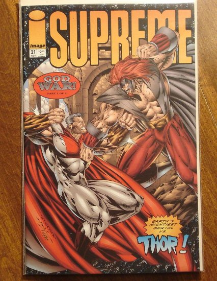 Supreme #21 comic book - Image comics