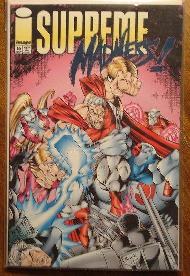 Supreme #16 comic book - Image comics