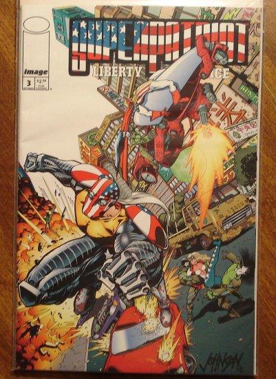 SuperPatriot #3 comic book - Image comics, Super patriot