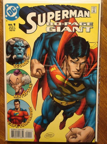 Superman 80-Page Giant #1 (1999) comic book - DC Comics