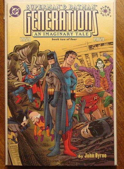 Superman / Batman: Generations #2 comic book - DC Comics