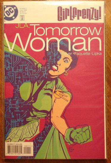 Girl Frenzy - JLA Tomorrow Woman #1 comic book - DC Comics