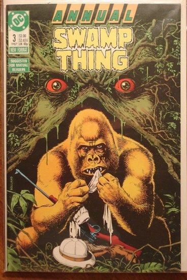 Swamp Thing Annual #3 comic book - DC Comics