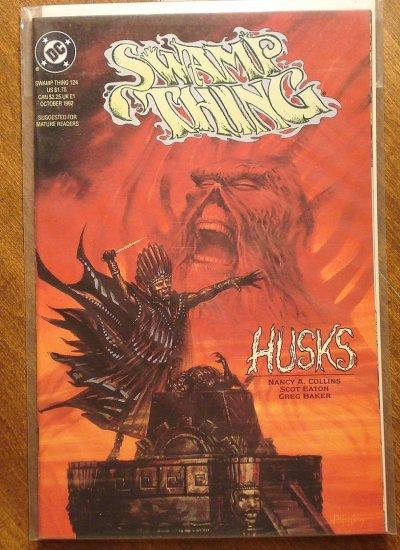 Swamp Thing #124 comic book - DC Comics