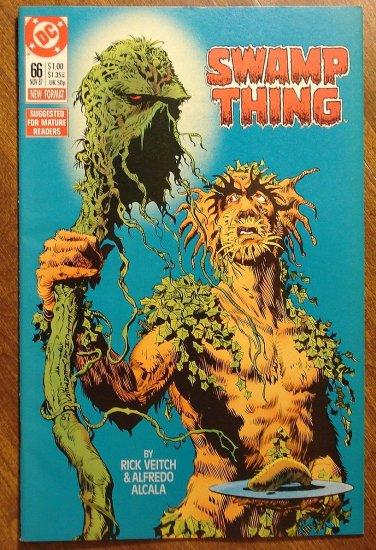 Swamp Thing #66 comic book - DC Comics