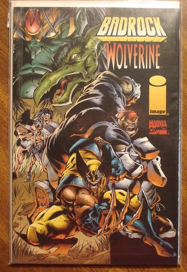 Badrock & Wolverine #1 comic book - Image & Marvel comics