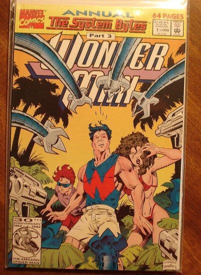 Wonder Man Annual #1 comic book - Marvel comics