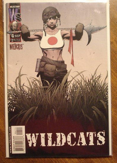 WildC.A.T.S. (Wildcats) #4 comic book - Image Comics