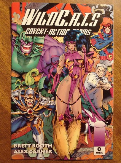 WildC.A.T.S. (Wildcats) #0 comic book - Image Comics