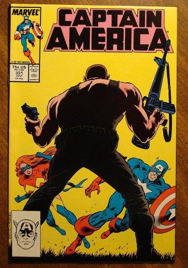 Captain America #331 comic book - Marvel Comics, NM/M