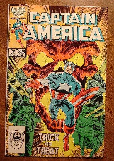 Captain America #326 comic book - Marvel Comics, NM/M
