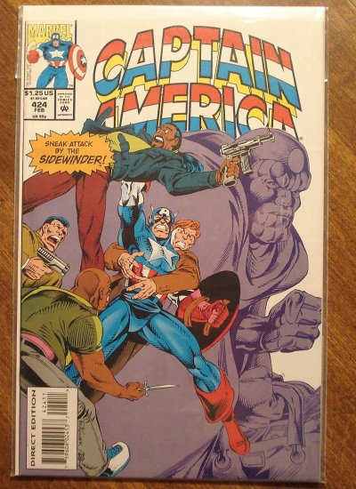 Captain America #424 comic book - Marvel Comics