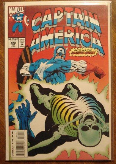 Captain America #420 comic book - Marvel Comics