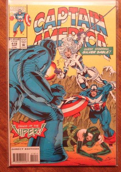 Captain America #419 comic book - Marvel Comics