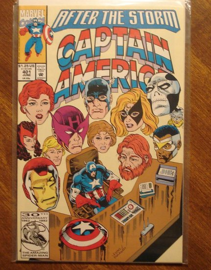 Captain America #401 comic book - Marvel Comics