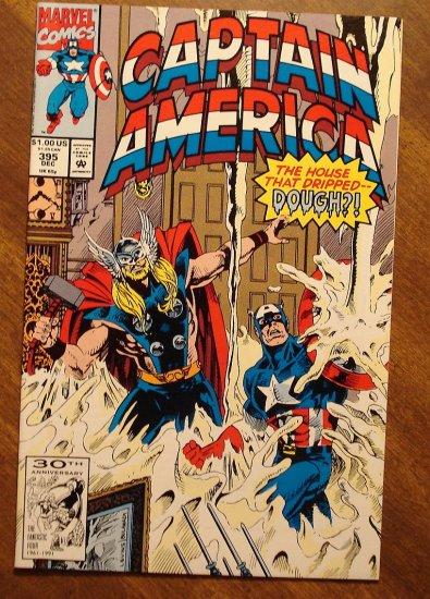 Captain America #395 comic book - Marvel Comics
