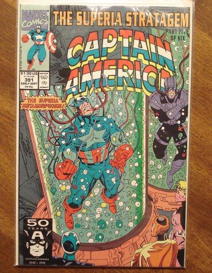 Captain America #391 comic book - Marvel Comics