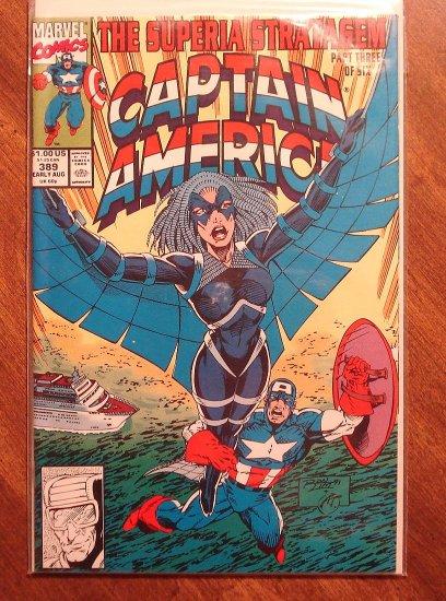 Captain America #389 comic book - Marvel Comics