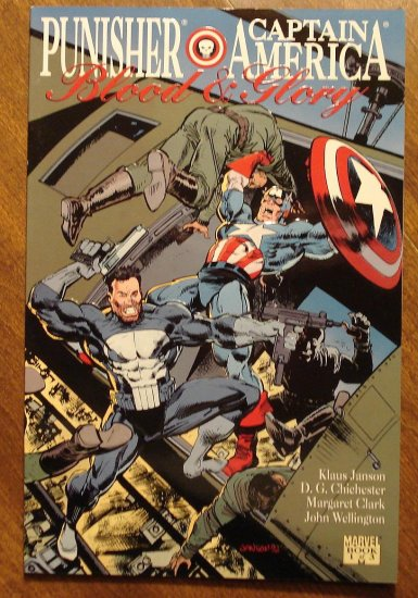 Punisher & Captain America - Blood & Glory #1 comic book NM/M