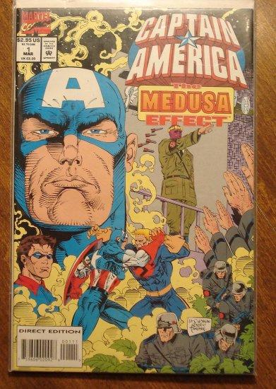 Captain America: The Medusa Effect #1 comic book - Marvel Comics