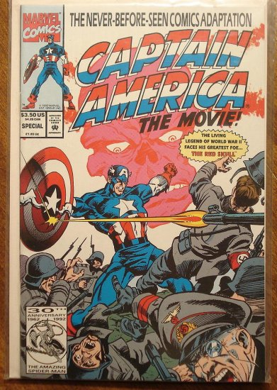 Captain America: The Movie Special #1 comic book - Marvel Comics