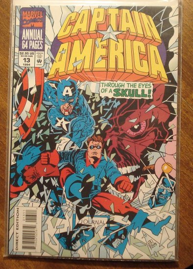 Captain America Annual #13 comic book - Marvel Comics