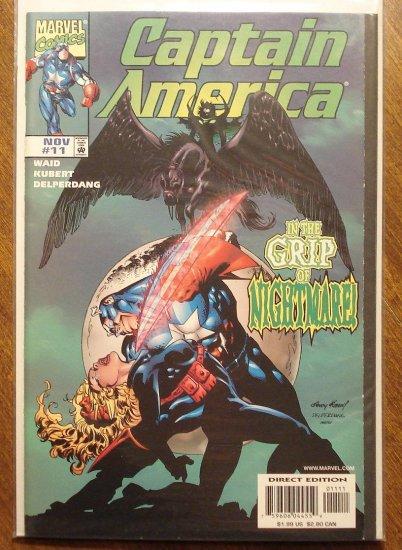 Captain America #11 (1998) comic book - Marvel Comics