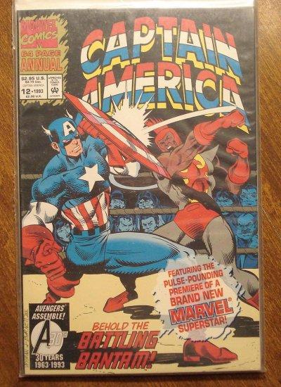 Captain America Annual #12 comic book - Marvel Comics