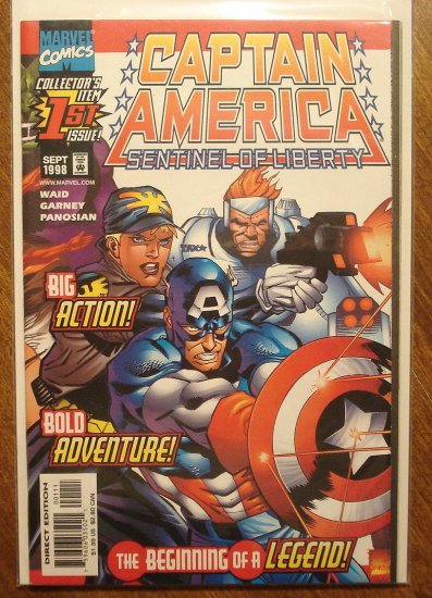 Captain America: Sentinel of Liberty #1 comic book - Marvel Comics