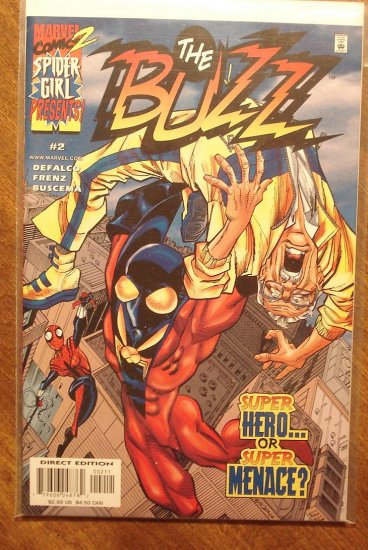 The Buzz #2 comic book - Marvel Comics, Spider-girl