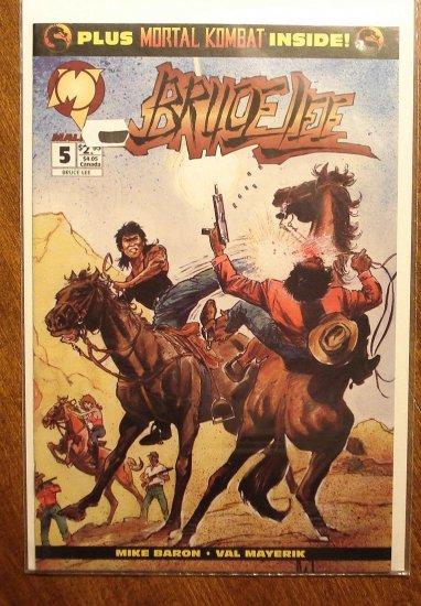 Bruce Lee #5 comic book - Malibu Comics