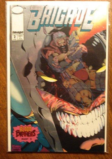Brigade #2 (Chromium Cover) comic book - Image Comics
